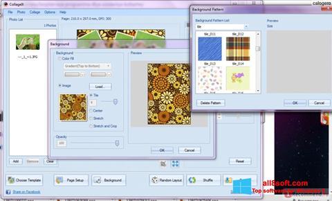 Снимак заслона CollageIt Windows 8