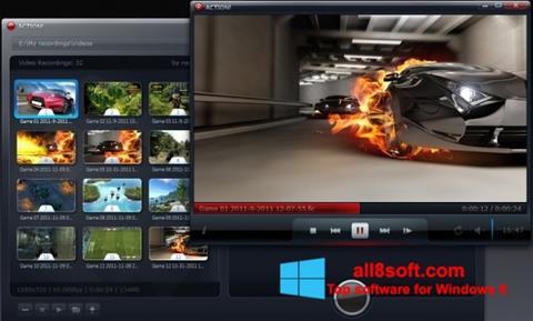 Снимак заслона Action! Windows 8