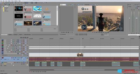 Снимак заслона Sony Vegas Pro Windows 8