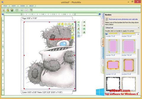 Снимак заслона PhotoMix Collage Windows 8