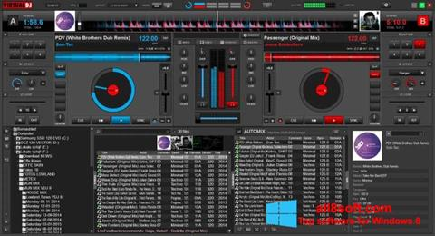 Снимак заслона Virtual DJ Windows 8