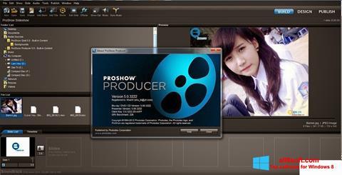 Снимак заслона ProShow Producer Windows 8