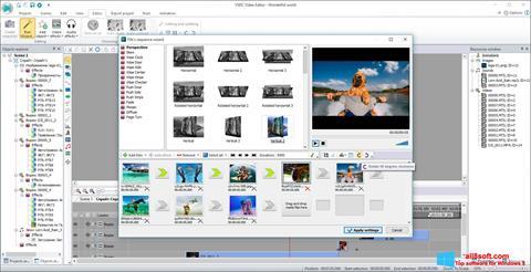 Снимак заслона Free Video Editor Windows 8