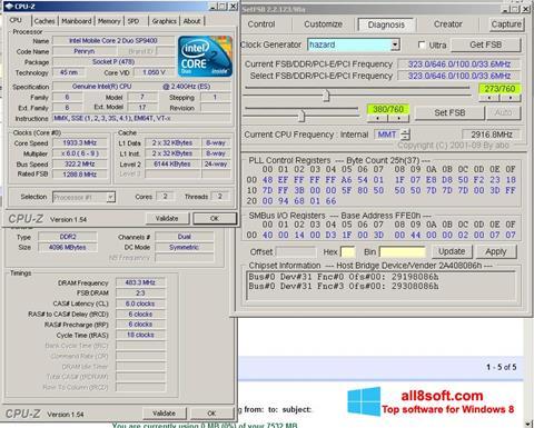Снимак заслона SetFSB Windows 8