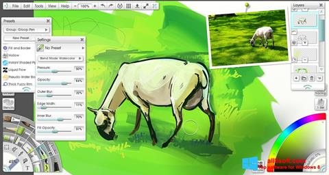 Снимак заслона ArtRage Windows 8