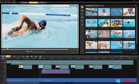 Снимак заслона Corel VideoStudio Windows 8