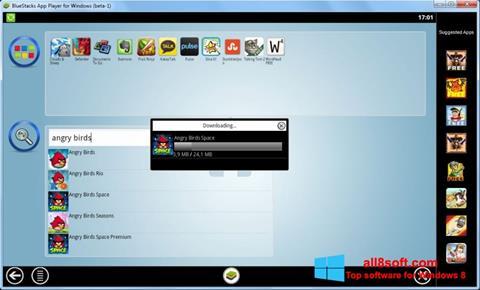 Снимак заслона BlueStacks Windows 8