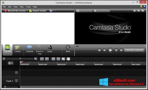 Снимак заслона Camtasia Studio Windows 8