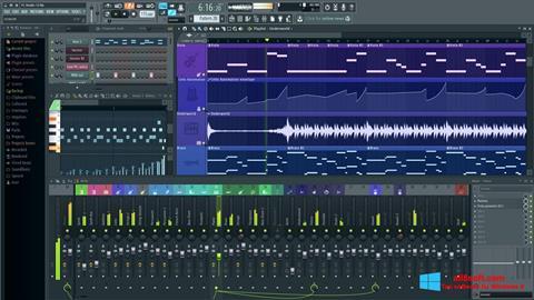 Снимак заслона FL Studio Windows 8